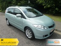 USED 2007 57 MAZDA MAZDA 5 1.8 TS2 5d 115 BHP GREAT VALUE MAZDA 5 PETROL WITH SEVEN SEATS, CLIMATE CONTROL, ALLOY WHEELS AND SERVICE HISTORY