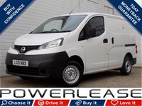 USED 2010 10 NISSAN NV200 1.5 E DCI 1d 85 BHP PLYLINED FSH INTERNAL SHELVING