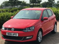 USED 2011 61 VOLKSWAGEN POLO 1.2 SEL TSI 3d 103 BHP