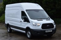USED 2014 64 FORD TRANSIT 2.2 350 P/V 5d 125 BHP EURO 5 LWB L3 H3 HIGH ROOF DIESEL MANUAL VAN ONE OWNER FULL S/H  SPARE KEY