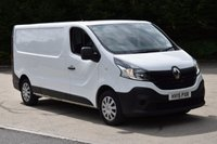 USED 2015 15 RENAULT TRAFIC 1.6 LL29 BUSINESS DCI AIR CON S/R P/V 5d 115 BHP LWB FWD DIESEL MANUAL VAN ONE OWNER F/SH ECO START STOP TECHNOLOGY
