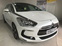 USED 2013 63 CITROEN DS5 2.0 HDI DSPORT 5d AUTO 161 BHP Full service history,   Full leather upholstery,   Electric/Heated front seats,   Bluetooth,   Satellite Navigation,   Reversing camera plus front and rear sensors