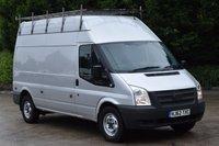 USED 2012 62 FORD TRANSIT 2.2 350 H/R 5d 140 BHP LWB FWD EURO 5 DIESEL PANEL MANUAL VAN ONE OWNER LOVELY DRIVE