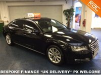 USED 2012 61 AUDI A8 TDI LWB QUATTRO SE EXECUTIVE 8 SPD START STOP LIMO **SOFT CLOSE DOORS - ELECTRIC BLINDS - FULLY LOADED LIMO MODEL**