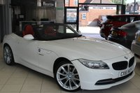 USED 2011 61 BMW Z4 2.5 Z4 SDRIVE23I HIGHLINE EDITION 2d AUTO 201 BHP FULL SERVICE HISTORY + FULL KANSAS RED LEATHER SEATS + BLUETOOTH + 18 INCH ALLOYS + HEATED SEATS + XENONS + ELECTRIC WINDOWS