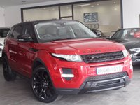 USED 2012 12 LAND ROVER RANGE ROVER EVOQUE 2.2 SD4 DYNAMIC 5d AUTO 190 BHP SAT NAV+LTHR+BLK PACK+R/CAMERA