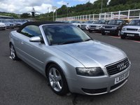 USED 2003 03 AUDI A4 2.4 SPORT 2d AUTO 168 BHP Only 41,500 miles by 2 owners just had cambelt service