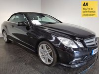 USED 2011 11 MERCEDES-BENZ E CLASS 3.0 E350 CDI BLUEEFFICIENCY SPORT ED125 2d AUTO 265 BHP FSH-LEATHER-NAV-BLUETOOTH-ALLOYS