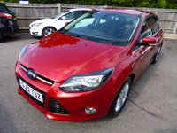 USED 2012 12 FORD FOCUS 1.0 TITANIUM ECOBOOST 124 BHP THIS VEHICLE IS AT SITE 1 - TO VIEW CALL US ON 01903 892224