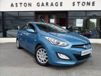 USED 2013 13 HYUNDAI I30 1.6 CLASSIC BLUE DRIVE CRDI 5d 109 BHP**1 OWNER * F/S/H** **1 OWNER * FULL SERVICE HISTORY * ZERO ROAD TAX**