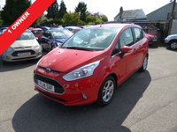 USED 2014 14 FORD B-MAX 1.5 TDCI (95PS) ZETEC NEW SHAPE (2014) THIS VEHICLE IS AT SITE 1 - TO VIEW CALL US ON 01903 892 224