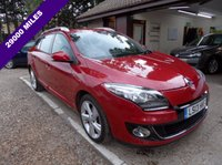 USED 2013 13 RENAULT MEGANE 1.6 DYNAMIQUE TOMTOM ENERGY DCI S/S 5d 130 BHP £20 A YEAR ROAD TAX, COLOUR SAT-NAV, FULL SERVICE HISTORY, USB AND AUX CONNECTION, CRUISE CONTROL