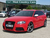 USED 2012 62 AUDI A3 2.5 RS3 QUATTRO 5d AUTO 340 BHP Full Audi Service History With Great Looks