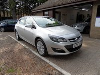 USED 2014 14 VAUXHALL ASTRA 1.7 EXCITE CDTI 5d 108 BHP FULL SERVICE HISTORY, 1 OWNER, £30 A YEAR ROAD TAX, CRUISE CONTROL, USB AND AUX CONNECTION