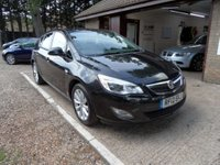 USED 2012 12 VAUXHALL ASTRA 1.6 ACTIVE 5d 113 BHP FULL VAUXHALL SERVICE HISTORY, 1 OWNER, 2 KEYS