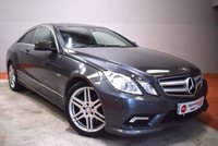 USED 2010 MERCEDES-BENZ E CLASS E350 CDI BLUE-EFF SPORT 2 Door Coupe - Try our secure online Finance Application System