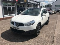 USED 2012 62 NISSAN QASHQAI 1.5 N-TEC PLUS DCI 5d 110 BHP 1 Owner-Full Service History-Bluetooth-Nav-Rev Cam-Low Mileage