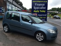 USED 2008 08 SKODA ROOMSTER 1.4 2 16V 5d 85 BHP, 74000 miles *****FINANCE AVAILABLE APPLY ONLINE******