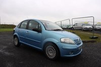USED 2005 05 CITROEN C3 1.4 EXCLUSIVE HDI 16V 5d 89 BHP NOT AVAILABLE ON FINANCE.