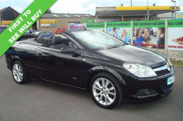 2008 58 VAUXHALL ASTRA 1.8 TWIN TOP DESIGN 3d 140 BHP CONVERTIBLE