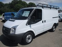 USED 2012 12 FORD TRANSIT 250 SWB 100BHP wIth 6 speed Gearbox
