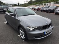 USED 2010 10 BMW 1 SERIES 2.0 116D SPORT 3d 114 BHP Metallic Sparkling Grey, local car with only 47,000 miles & service history