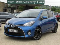 USED 2016 16 TOYOTA YARIS 1.5 VVT-I DESIGN M-DRIVE S 5d AUTO 73 BHP Small Hybrid Yaris With A Huge Specification