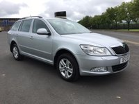 USED 2011 SKODA OCTAVIA 1.6 TDI CR 5d 103 BHP ONE COMPANY OWNER FROM NEW, EXCELLENT DRIVER