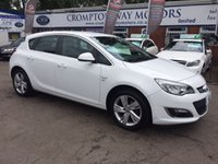 USED 2013 63 VAUXHALL ASTRA 1.4 SRI 5d 98 BHP 0% FINANCE AVAILABLE PLEASE CALL 01204 317705