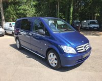 USED 2013 13 MERCEDES-BENZ VITO 2.1 116 CDI DUALINER 1d 163 BHP SAT NAV, Air Con, Full Leather, Heated Drivers Seat
