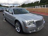 USED 2010 10 CHRYSLER 300C 3.0 CRD SRT 4d AUTO 215 BHP 20 inch SRT alloys, SRT body & interior. Sat Nav & Carbon interior