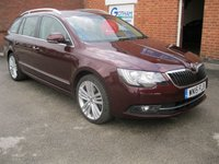 USED 2015 15 SKODA SUPERB 2.0 ELEGANCE TDI CR 5d 170BHP ESTATE