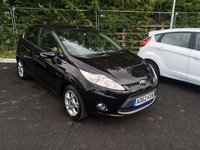 USED 2012 62 FORD FIESTA 1.4 TDCI (70PS) ZETEC (2012) THIS VEHICLE IS AT SITE 1 - TO VIEW CALL US ON 01903 892224