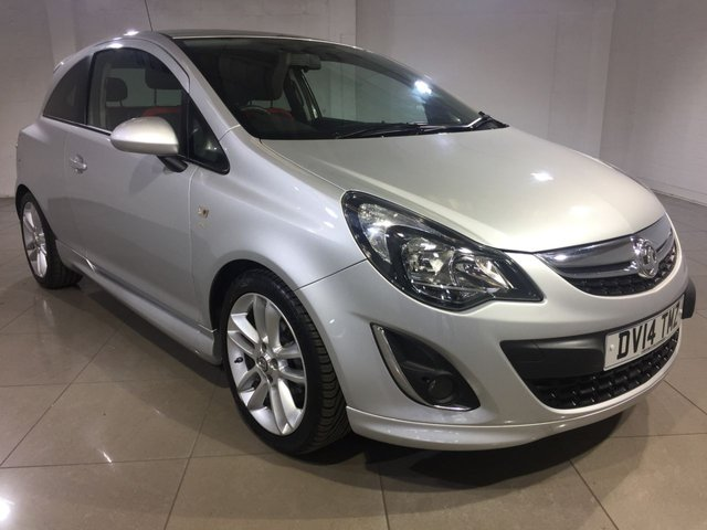 View our 2014 14 VAUXHALL CORSA 1.4 SRI 3d 98 BHP