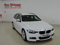 USED 2014 14 BMW 3 SERIES 2.0 320D M SPORT TOURING 5d 181 BHP with Sat Nav