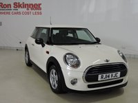 """USED 2014 14 MINI HATCH ONE 1.2 ONE 3d 101 BHP with Pepper Pack + 15"""" Alloys"""