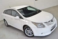 USED 2010 60 TOYOTA AVENSIS 1.8 VALVEMATIC TR 5d 145 BHP