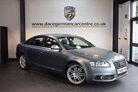 USED 2011 60 AUDI A6 2.0 TDI S LINE SPECIAL EDITION 4DR 168 BHP + FULL BLACK LEATHER INTERIOR + EXCELLENT SERVICE HISTORY + SATELLITE NAVIGATION + BLUETOOTH + HEATED SPORT SEATS + CRUISE CONTROL + AUXILIARY PORT + HEATED MIRRORS + PARKING SENSORS + 19 INCH ALLOY WHEELS +
