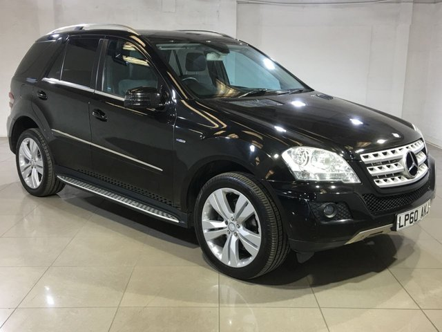 View our 2011 60 MERCEDES-BENZ M CLASS 3.0 ML300 CDI BLUEEFFICIENCY SPORT 5d AUTO 204 BHP