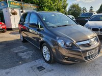 USED 2014 14 VAUXHALL ZAFIRA 1.7 DESIGN NAV CDTI ECOFLEX 5d 108 BHP BUY NOW 1ST PAYMENT NOV 2017