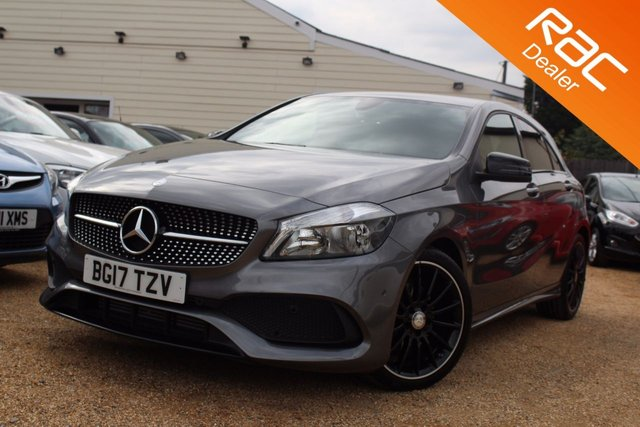 View our 2017 17 MERCEDES-BENZ A CLASS 0.0 A 200 AMG LINE EXECUTIVE 5d AUTO 154 BHP