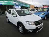 USED 2014 64 DACIA SANDERO 1.5 STEPWAY LAUREATE DCI 5d 90 BHP 12 MONTHS MOT... 6 MONTHS WARRANTY.. FINANCE AVAILABLE