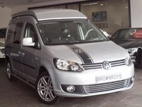 USED 2010 60 VOLKSWAGEN CADDY MAXI 1.6 C20 TDI 1d 101 BHP WEST DUBS CAMPER 4 BERTH +WEST DUBS CONVERSION+4 BERTH+