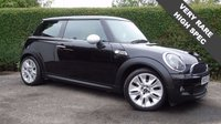 USED 2010 59 MINI HATCH COOPER 1.6 COOPER S CAMDEN 3d 175 BHP RARE, HUGH SPEC  6 Month PREMIUM Cover Warrantry - 12 Month MOT (No Advs)