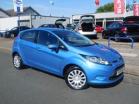 USED 2009 59 FORD FIESTA 1.2 STYLE PLUS 5d 81 BHP LOW MILEAGE
