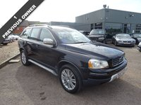 USED 2007 57 VOLVO XC90 2.4 D5 EXECUTIVE 5d AUTO 183 BHP 1 FORMER KEEPERS, MOT TIL JAN 2018, 10 DEALERSHIP SERVICE STAMPS, VEHICLE WHEN NEW £47007 WITH £615 OPTIONAL EXTRAS FITTED, Laminated side windows/water repellent £390, Speed dependent steering £225, Black Sapphire metalic.With contrasting Leather Trim piped White, Satellite Navigation, Wood and Leather Steering Wheel, Automatic Tiptronic Gearbox, Wood pack to Dash and Door Inserts, Heated Seats, Multi-function Steering Wheel, Folding Door Mirrors,
