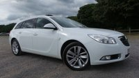 "USED 2013 62 VAUXHALL INSIGNIA 1.4 SRI S/S 5d 138 BHP F/S/H, ONE OWNER,CHOICE OF 2, CRUISE CONTROL, AIR CONDITIONING, PRIVACY GLASS,CLIMATE CONTROL, AA  MECHANICAL REPORT,2 X KEYS, 18""ALLOYS"