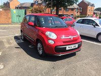 USED 2014 14 FIAT 500L MPW 1.2 MULTIJET POP STAR 5d 85 BHP 7 SEATER WITH EXCELLENT FUEL ECONOMY!!..LOW CO2 EMISSIONS(110G/KM)..£20 ROAD TAX...FULL FIAT SERVICE HISTORY..ONLY 9815 MILES!!..WITH ALLOY WHEELS AND AIR CONDITIONING!!