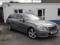 USED 2011 11 MERCEDES-BENZ E CLASS 2.1 E220 CDI BLUEEFFICIENCY AVANTGARDE 5d AUTO 170 BHP