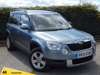 USED 2013 13 SKODA YETI 2.0 S TDI CR 5d  128 POINT AA INSPECTED & 12 MONTHS FREE AA MEMBERSHIP